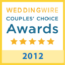 weddingwire award 2012