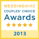 weddingwire award 2013