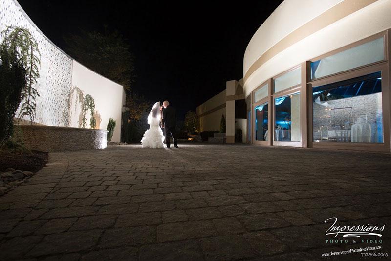 Outdoor wedding photoshoot