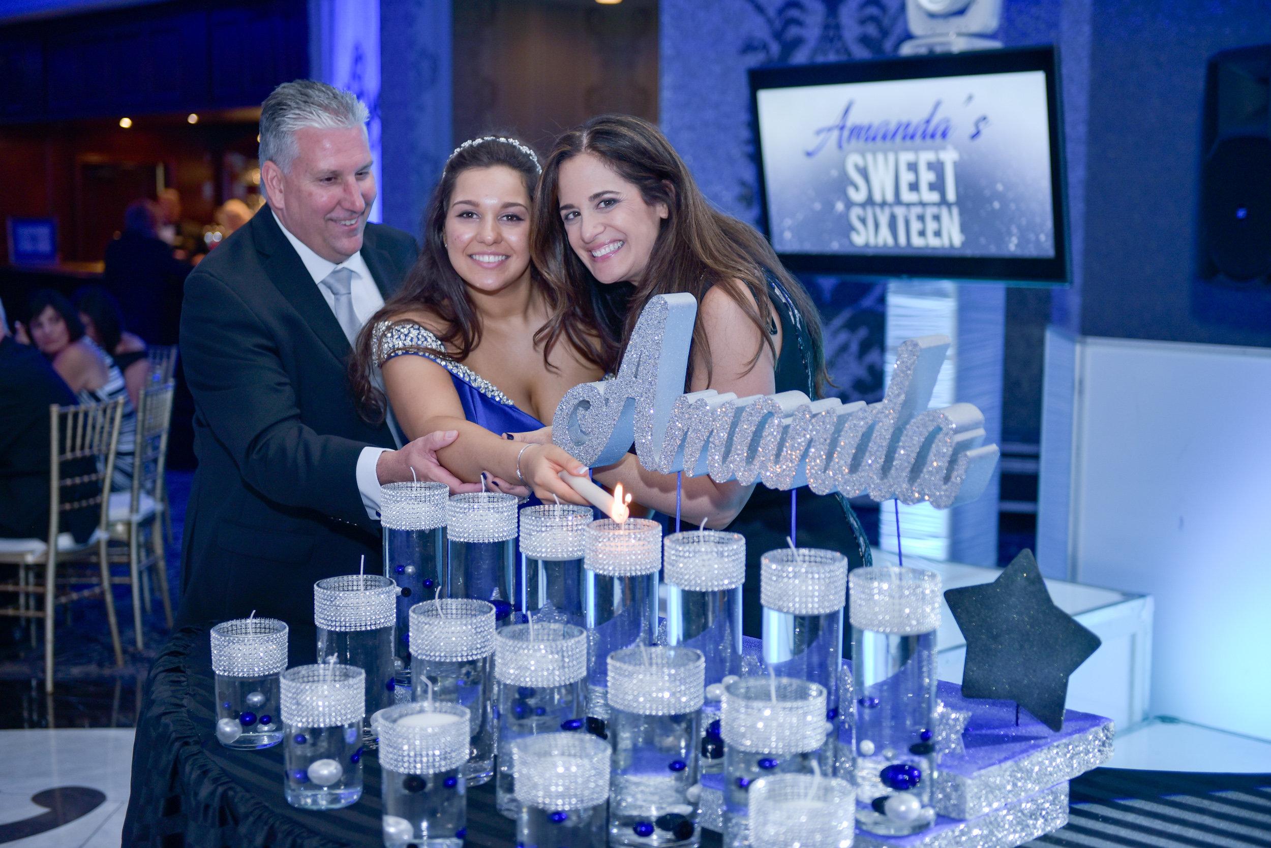 Amanda Sweet 16 Celebration